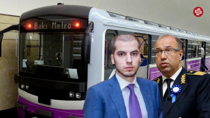 Bakı Metropoliteni sədrinin milyonçu oğlu