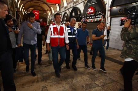 İstanbulda dənizlə quru birləşir… –