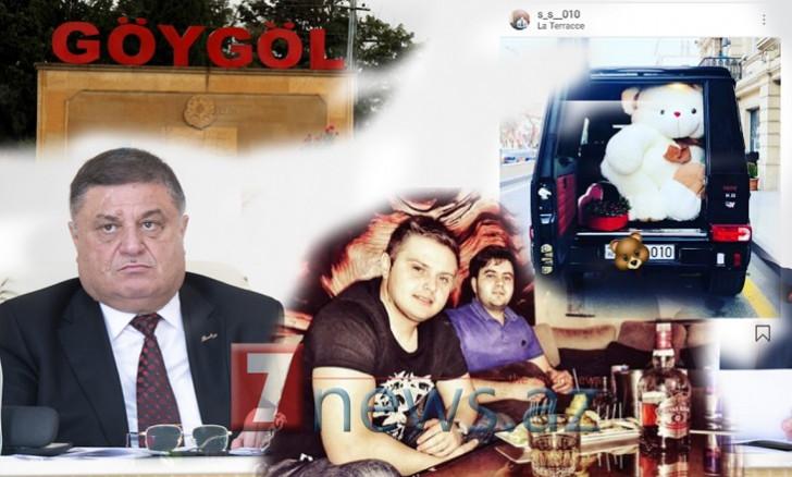 Göygölün icra başçısı Arif Seyidovunoğlunun dəbdəbəli həyatı-