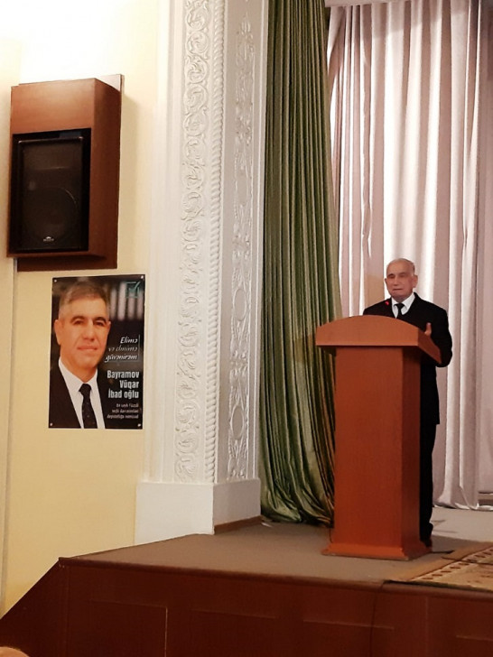 Deputatlığa namizəd Vüqar Bayramov seçicilərlə ilk görüşünü Sumqayıtda keçirib -